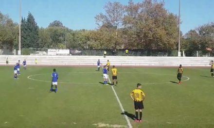 Sub-19 são surpreendidos em Alcanena e atrasam-se na tabela