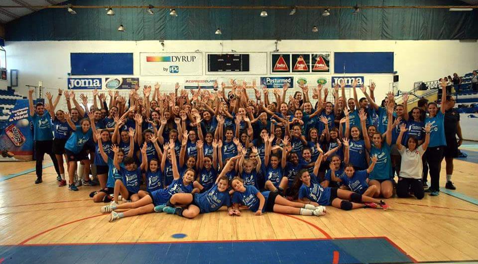 Dia do Voleibol enche o Pavilhão Acácio Rosa