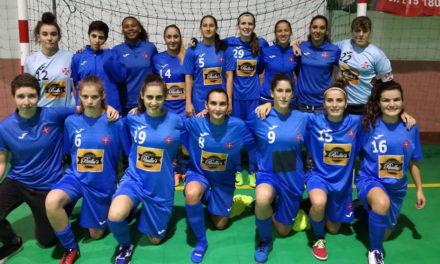 Equipa feminina de futsal segue invicta em todas as provas