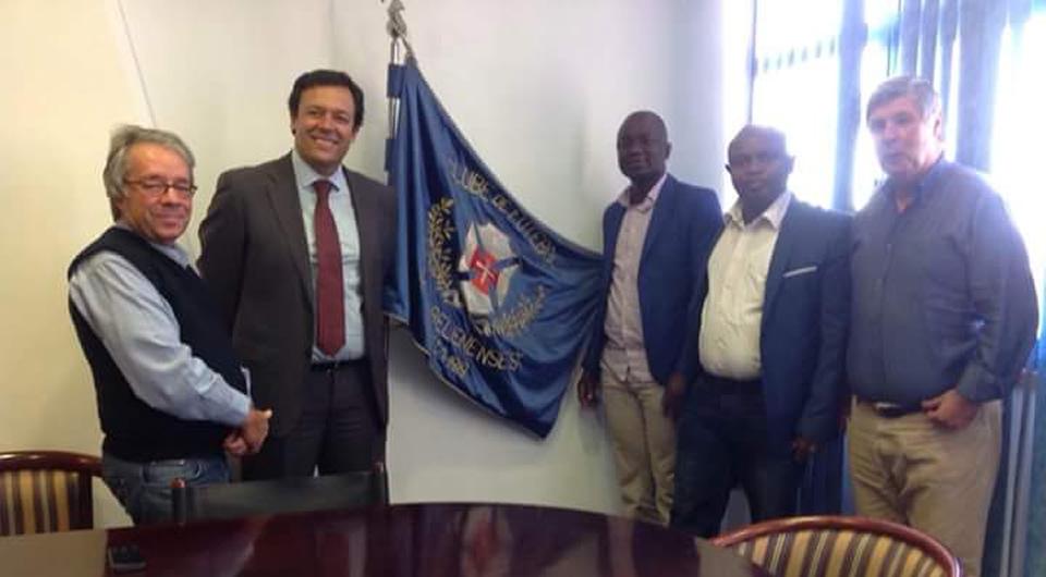Conversações com o FC Sonaco da Guiné-Bissau