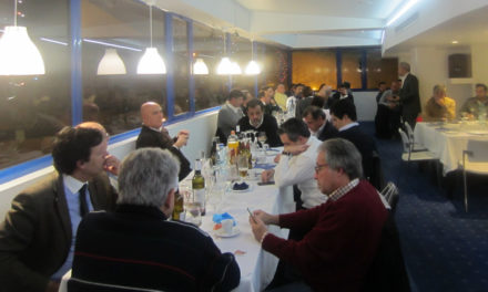 Dirigentes e colaboradores juntaram-se em jantar de Natal
