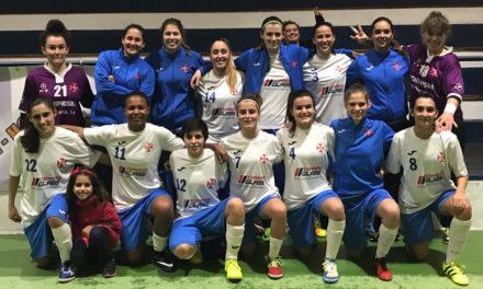 Equipa feminina de futsal avança para a 4ª eliminatória da Taça