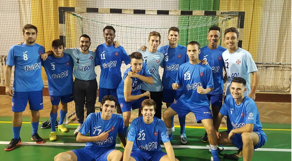 Sub-20 de futsal passam com distinção no derby frente ao Sporting