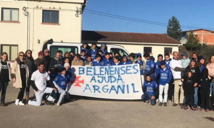 Sub-18 e Sub-16 do Rugby solidários em Arganil