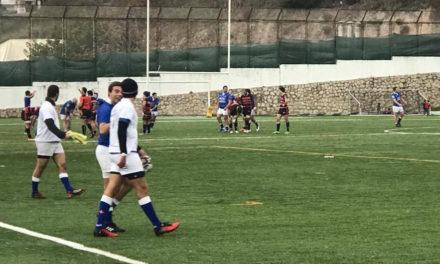 Azuis seguem invictos na fase regular do Campeonato de Rugby