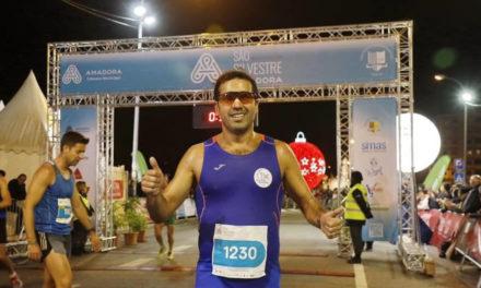 Carlos Freitas foi 2º na São Silvestre da Amadora