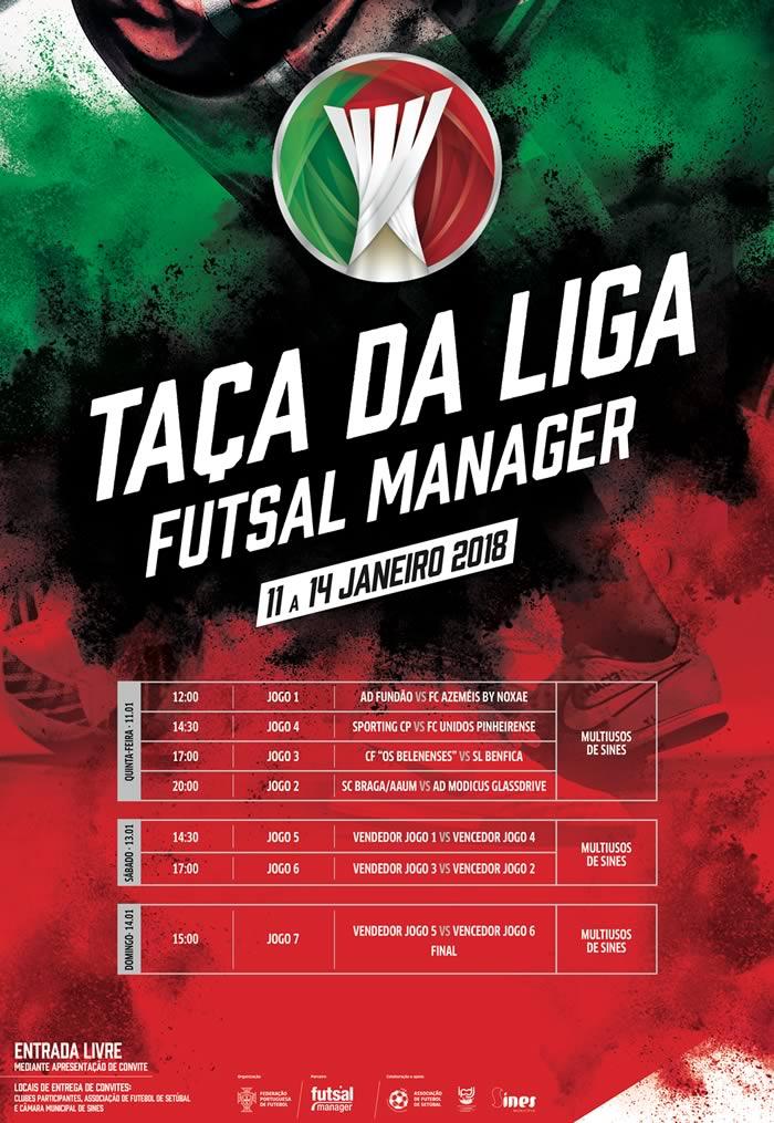 Futsal | Taça da Liga 2018