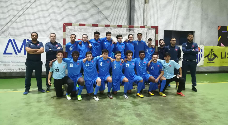 Futsal: Juvenis atingem fase final de Apuramento de Campeão