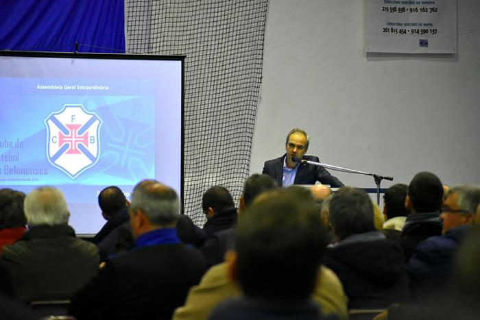 Assembleia Geral 3 de Fevereiro 2018   Patrick Morais de Carvalho