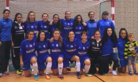 Juniores femininas garantem meias-finais do Campeonato