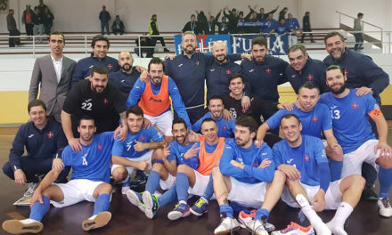 Futsal segue para os 'oitavos' da Taça