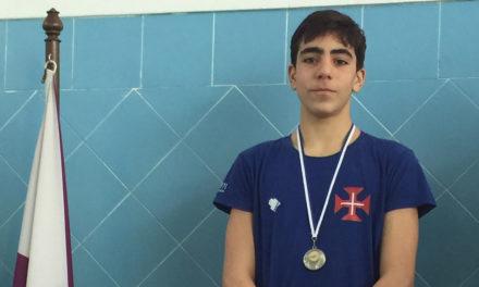 António Carvalho com 3 Medalhas nos Regionais de Infantis de Inverno
