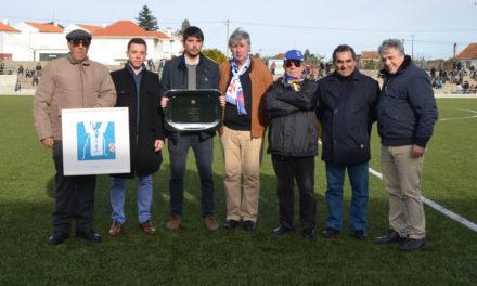 Os Vilanovenses visitados por representantes do Belenenses