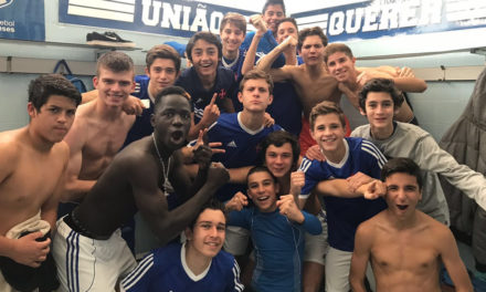 Iniciados vencem Sporting no derby que deixa os azuis mais perto do objectivo