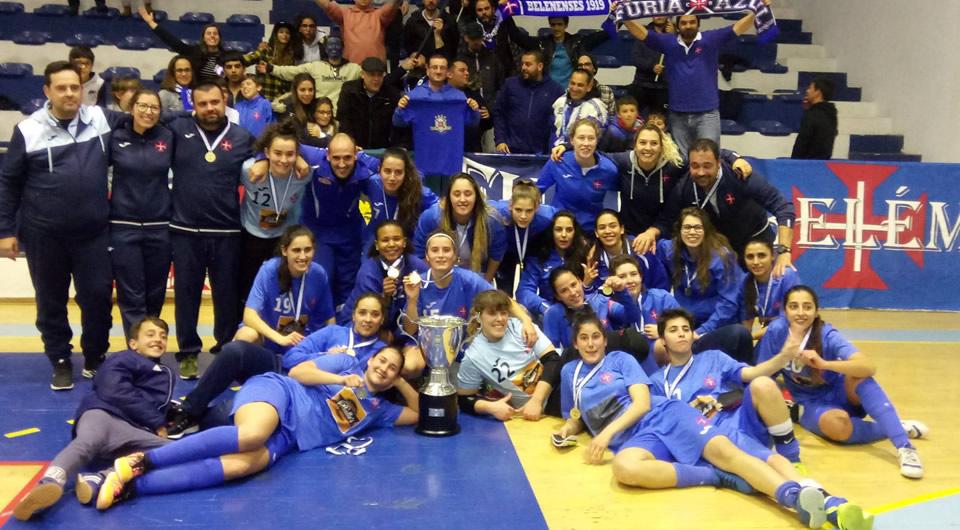Futsal feminino dá passo decisivo rumo à 2ª fase da Taça Nacional