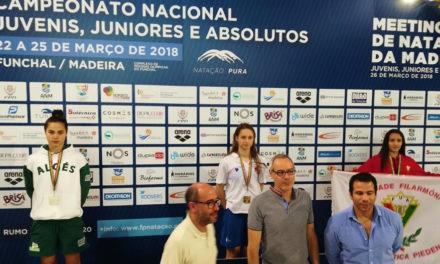 Nacionais de Natação: Lidiana Rodrigues é Campeã Nacional nos 200mB