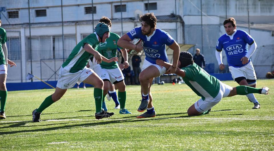 Três azuis no Campeonato da Europa de Rugby U18