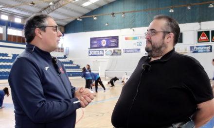 Entrevista com Pedro Lourenço, vice-presidente das Modalidades de Pavilhão