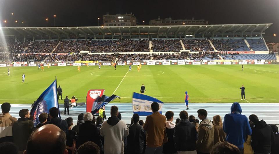 Eficácia no 28ª triunfo do Belenenses para a Liga, em casa, no Clássico frente ao Porto