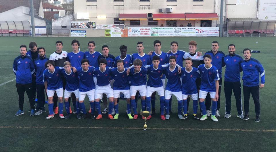 Juvenis B vencem Estoril e alcançam a vitória em mais uma competição de Páscoa