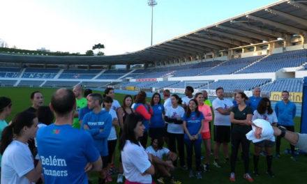 Grande adesão ao treino aberto com Ercília Machado