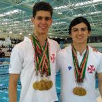 Tiago Neves e Miguel Cruz conquistam 7 títulos nacionais de Natação Adaptada