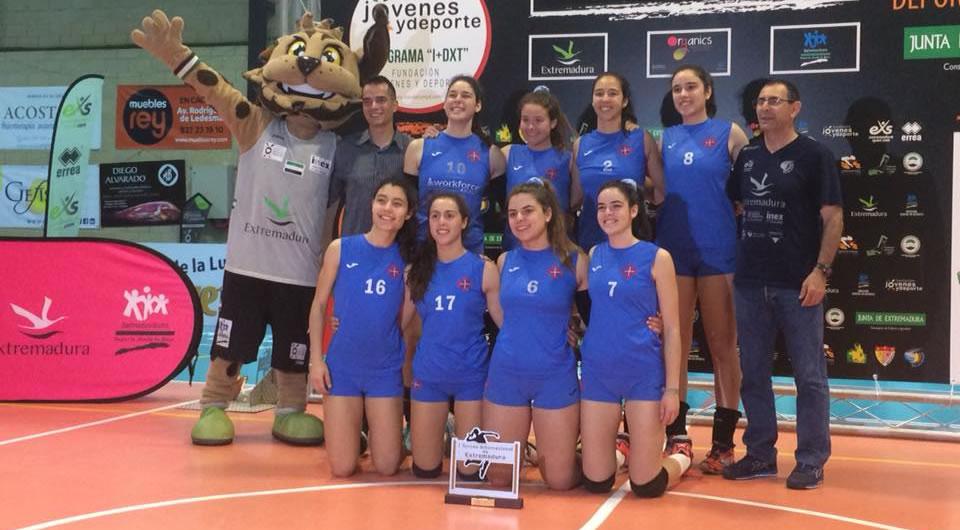 Juniores de Voleibol em Espanha e de novo em grande nível
