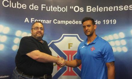 Pivot Bruno Moreira (ex-Madeira SAD) é reforço do Andebol do Belenenses