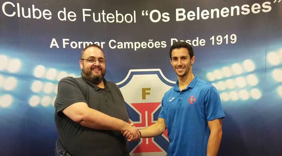 Nuno Santos renova e mantém-se ao serviço do Andebol do Belenenses