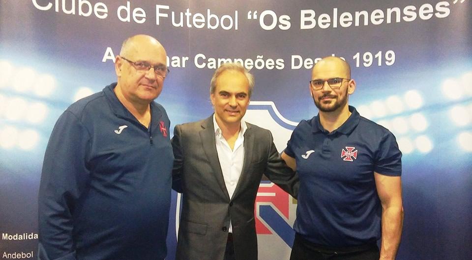 João Florêncio mantém-se no comando técnico do Andebol do CFB