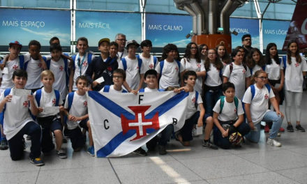 Comitiva Sub12 do Belenenses já trabalha nos Açores
