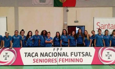Belenenses vence a Taça Nacional de Futsal feminino a uma ronda do final da Final-4