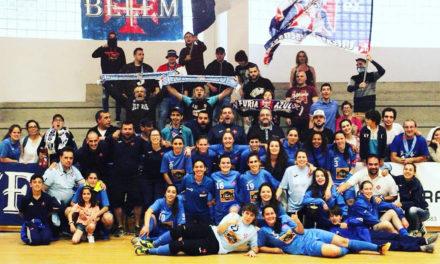 Futsal feminino garante subida à I Divisão Nacional