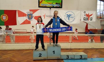 Maria Sykes sagrou-se Campeã Nacional de Cadetes de Taekwondo