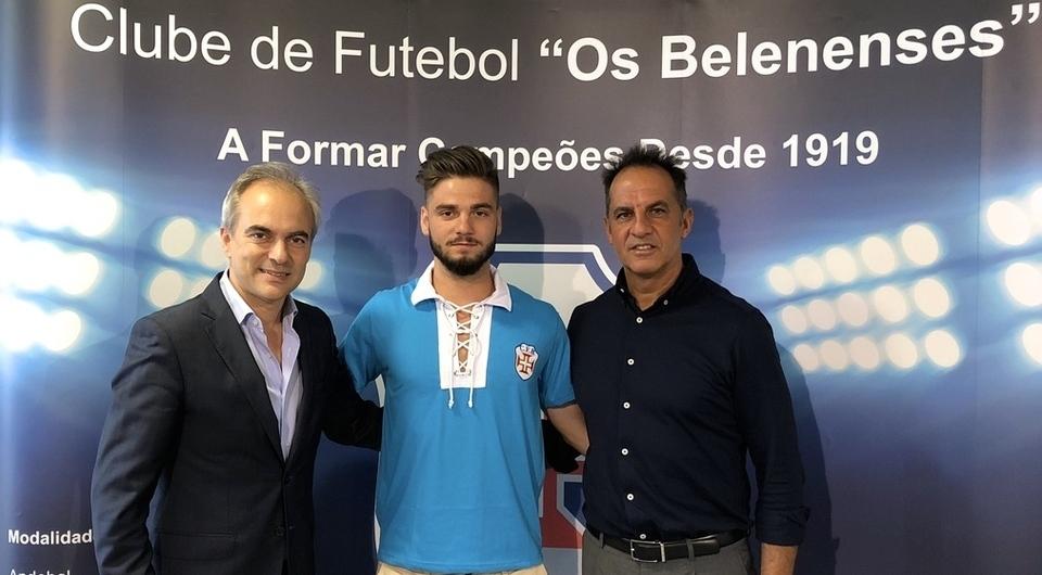 Alex Figueiredo regressa ao Restelo para reforçar o futebol sénior 2018/19