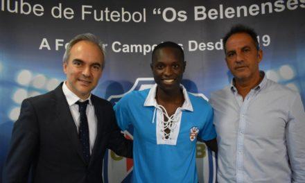 Ilmo Ferreira chega do CNS para reforçar o meio campo do Belenenses