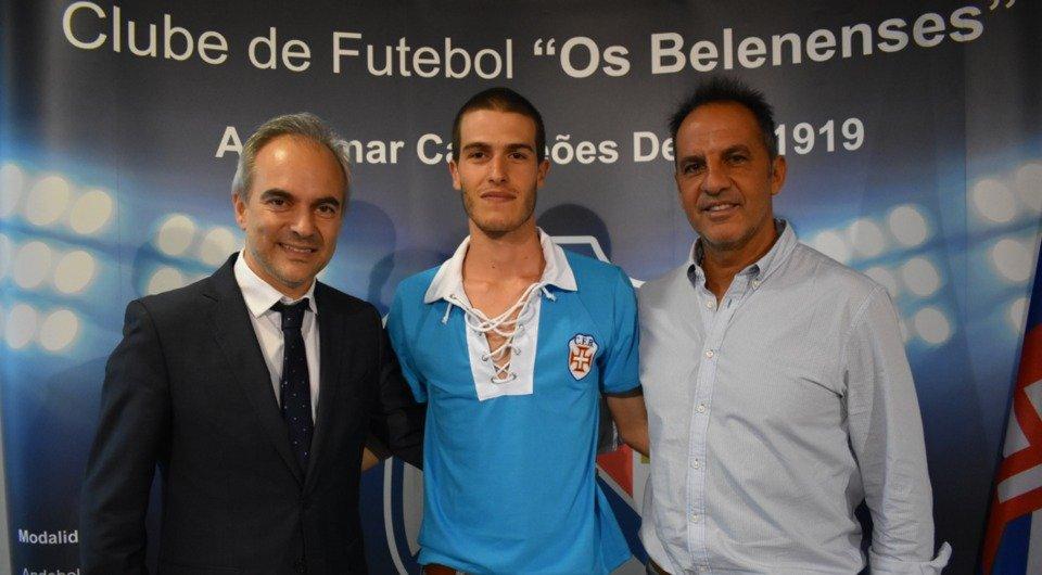 João Trabulo de regresso ao Restelo para reforçar o futebol sénior