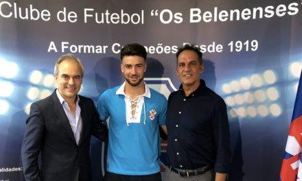 Central Miguel Matos chega ao Restelo para o futebol sénior 2018/19