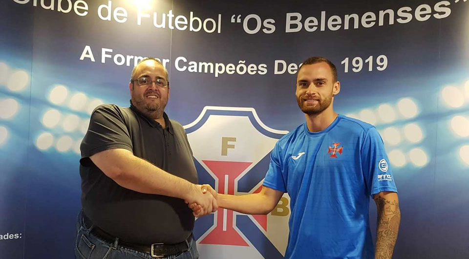 Bruno Pinto (ex-Benfica) de regresso ao Pavilhão Acácio Rosa