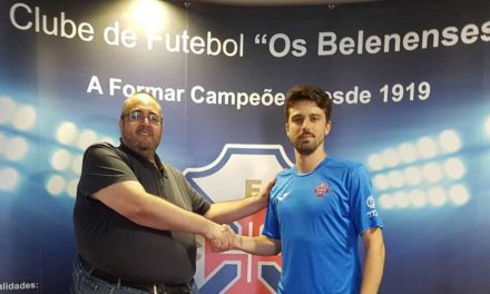 Jota renova e mantém-se ao serviço do futsal do Belenenses
