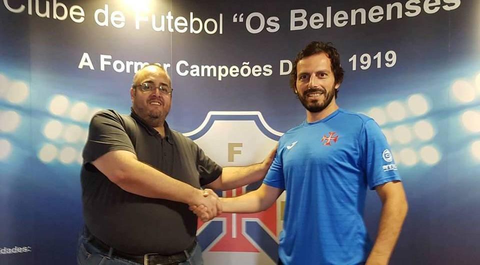 Capitão João Pires mais uma época ao serviço do futsal azul