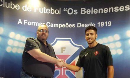 Paulo Pimenta é mais um reforço para a baliza do Futsal Azul