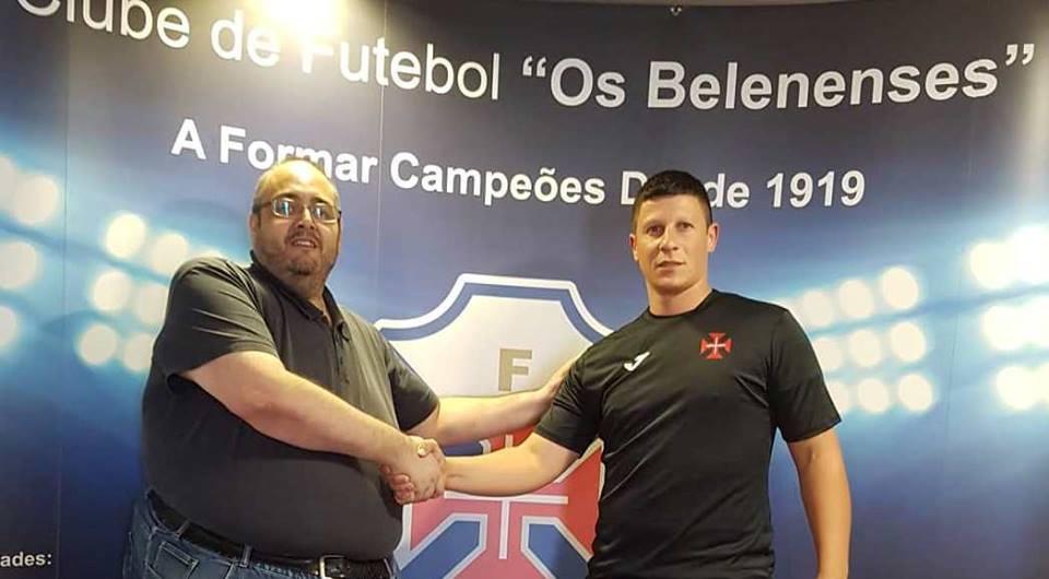 Sandro Azenha reforça a baliza dos Azuis do Restelo