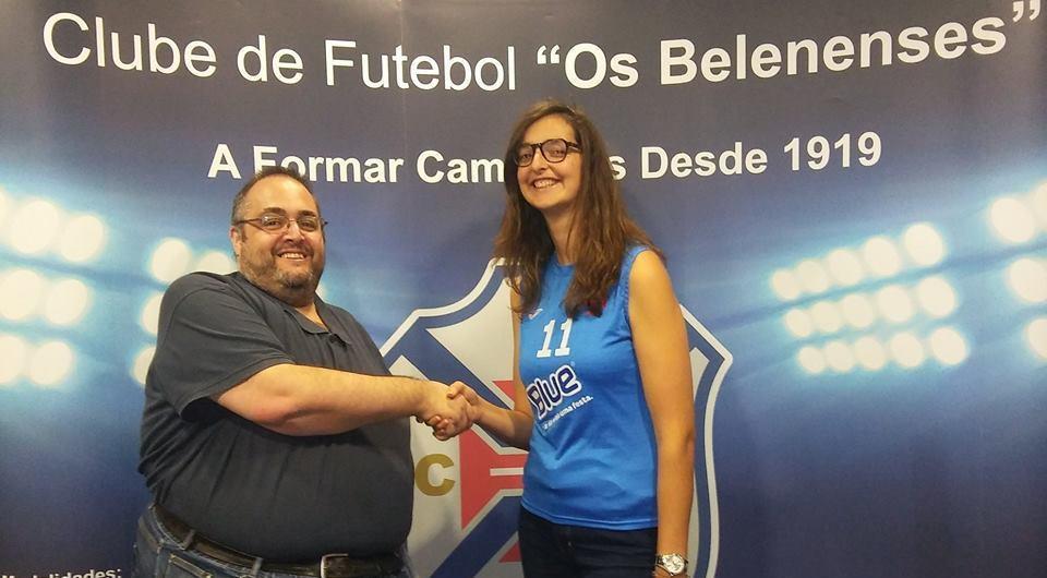 Internacional Joana Polido regressa ao Restelo para reforçar o voleibol