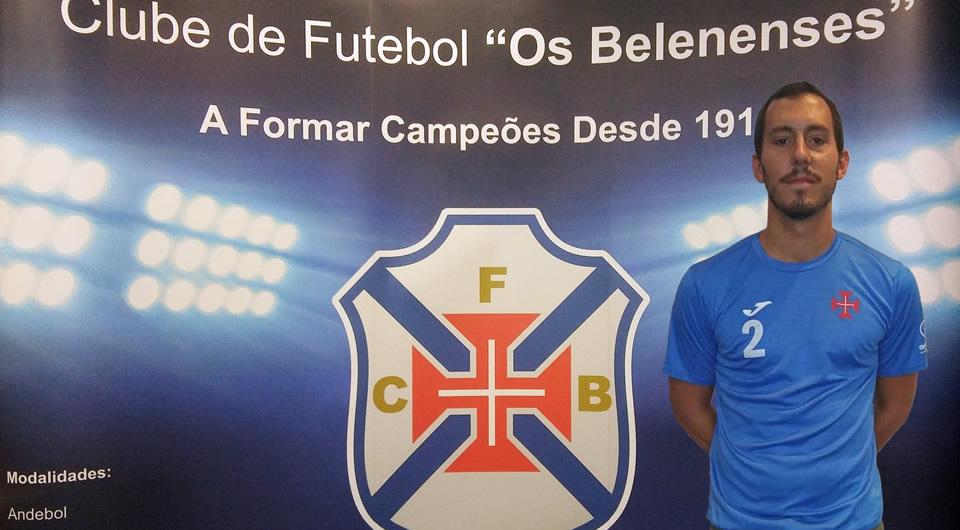 Primeira-linha Ricardo Barrão regressa ao Restelo para reforçar o andebol azul