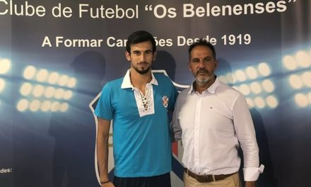 André Serra é reforço às ordens do técnico Nuno Oliveira para o ataque à subida