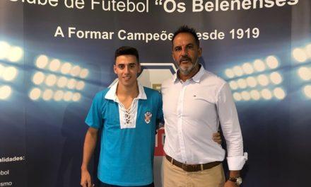 Médio ofensivo David Varges é o mais recente reforço da formação de Nuno Oliveira