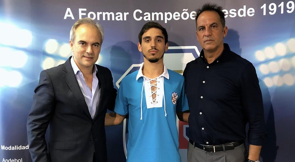 João Fernandes é reforço às ordens de Nuno Oliveira