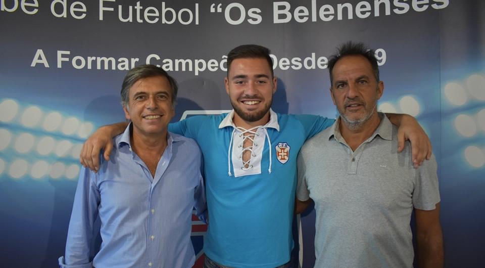 Guarda-Redes e vice-campeão Sub-19 Tomás Foles de regresso ao Restelo