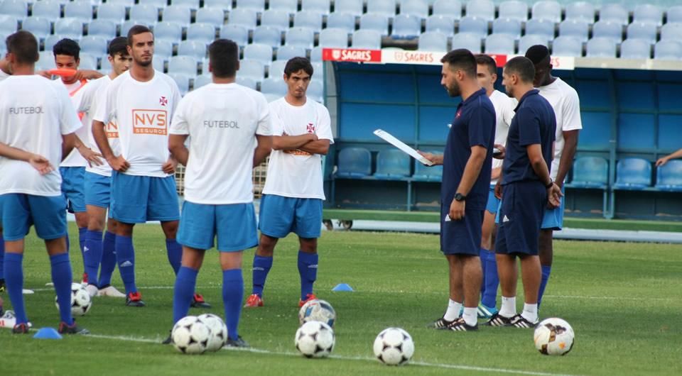 """Nuno Oliveira: """"Domínio, controlo, golos e vitórias são o que caracterizará esta equipa"""""""